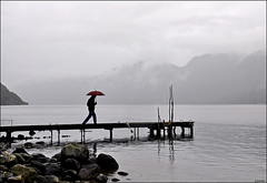 Beautiful Norway.....even in the rain (leuntje) Tags: rain norway clouds norge hordaland fjorden noorwegen hardangervidda eidfjord eidfjorden simadalsfjorden