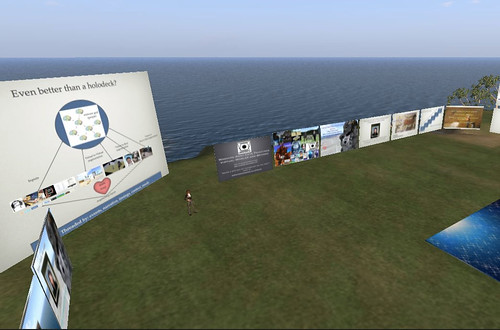 "My ""local"" opensim presentation hosted on demand"