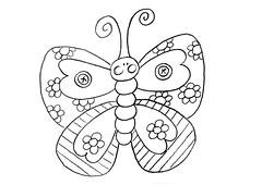 Risco Borboleta (Acrilex) Tags: artesanato animais artes bichinhos riscos acrilex
