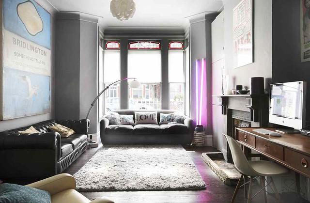 Victorian Modern Room