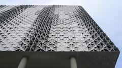 Galeria Kaufhof Pforzheim, Germany (Winfried Scheuer) Tags: modulor facade metall multiple bris de soleil opening patern bend sheet cool triangel diagonal repetition eiermann kaufhaus fassade hertie department store