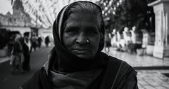 Portraits of the world 13 (thirdworldsong) Tags: people person portrait bw blackandwhite day religion woman human portraitphotography travel travelphotographer wanderlust blog instagram goldentemple amritsar india delhi varanasi pakistan streetphotography photography streets sikh music life emotion wrinkles age cloaks threads red sunset beautiful thirdworld exposure contrast streetlife trip aroundtheworld world fotografia ella winter