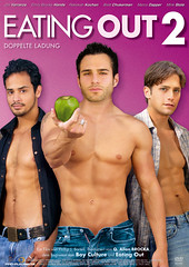Eating Out 2 DVD Artwork.indd (QueerStars) Tags: coverfoto lgbt lgbtq lgbtfilmcover lgbtfilm lgbti profunmedia dvdcover cover deutschescover