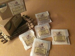 Sarva Soaps Packaging for regular size and sample size (Jennifer Kumar) Tags: soap artwork handmade crafts arts handiwork skincare handmadesoap sarva artisansoap soappackaging alaivanioctober2009 sarvasoap
