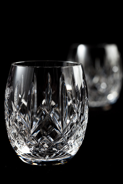 Crystal Scotch Glasses