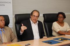 Gustavo Rojas, JoséTejada y Natyobi Mejía