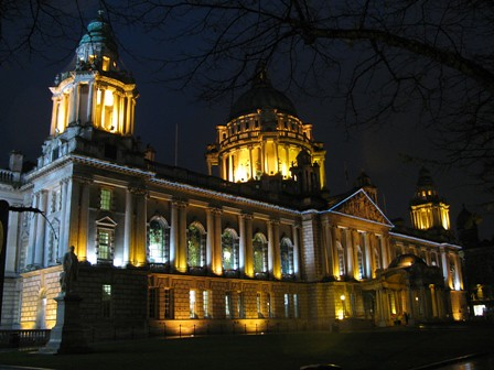Belfast City Hall Oct 20th 2009