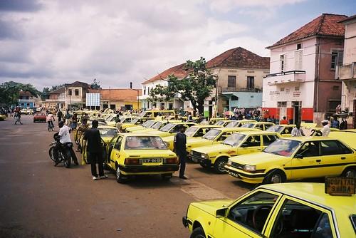 Taxis por Maria Cartas, en Flickr