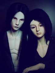 Sagart & Kravith (hethealien2) Tags: saint do ds bjd oe bermann dollshe
