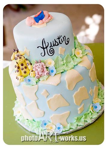 Giraffe+cake+for+baby+shower