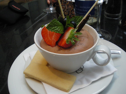 The Sofitel London-Gatwick LGW - Le Cafe Dessert! YUMMY! 03/11/2009! When in London - this is a must try!