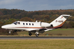 D-IURS - 525-0343 - Excellent Air - Cessna 525 CitationJet - Luton - 091104 - Steven Gray - IMG_3451