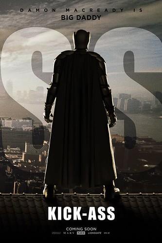 Kick-Ass Movie Poster Nicolas Cage