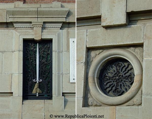 Detalii de pe fatada Catedralei Sfantul Ioan