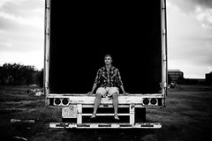 untitled (laurenmarek) Tags: boy 2 bw white man black college truck dark dallas utd nikon texas empty tx sigma adobe lightroom 30mm utdallas d40 laurenmarek