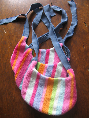 colorful drool bibs for Jakey