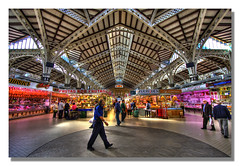 """Mercado Central"" (Pepelahuerta) Tags: valencia market pepe hdr mercadocentral canon1022mm lahuerta photomatix canon40d concordians ultraangulares"