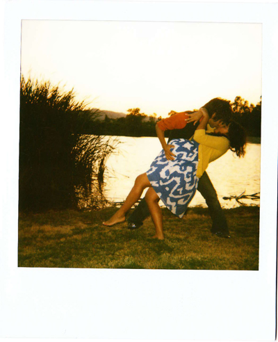 polaroid of ben and me