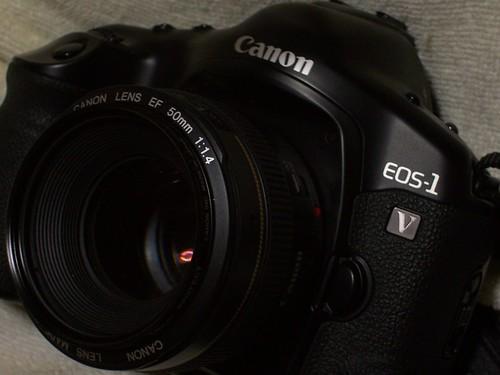 My Eos-1v