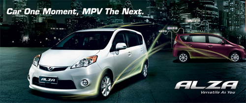 New Perodua MPV Alza Launched
