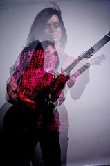 bom bom pow (amrul kareem) Tags: pink white black studio guitar portraiture ag conceptual guitarist amrulkareem