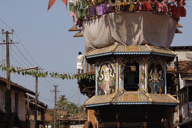 Shiva's chariot in Gokarna