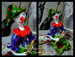 Flautista (Art Vanessa Lima) Tags: clown artesanato paz palhaos cabaas porongos vanessalima