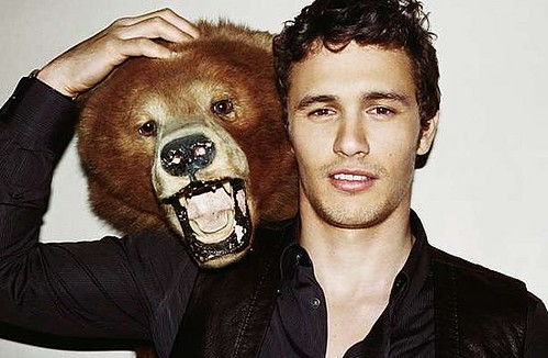 james franco bear