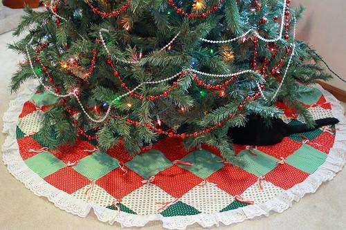 Gram's tree skirt