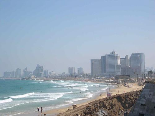Tel Aviv as seen from Jaffa.