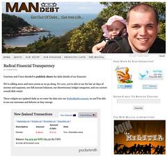 great link from Gloria: Man vs Debt