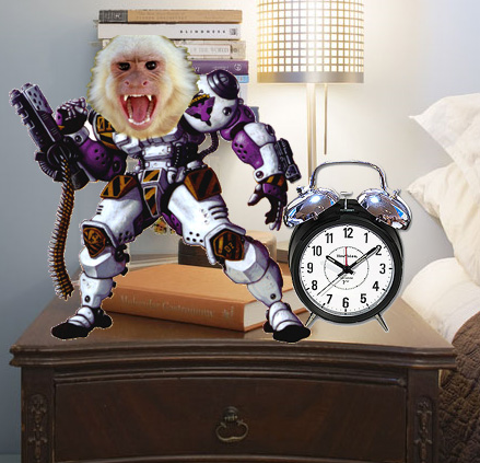 Bedside Battle Monkey