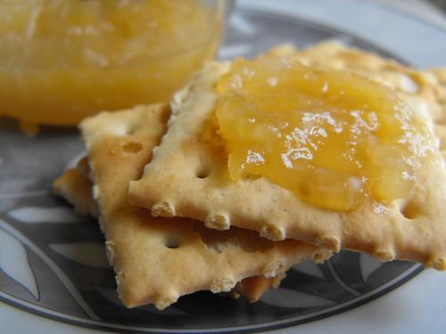 Doce de maçã, limão e côco
