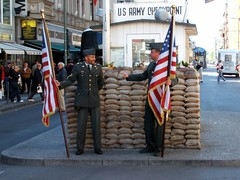 Berlin - Checkpoint Charlie (Miguel Tavares Cardoso) Tags: berlin germany deutschland best berlim hotornot todays miguelcardoso nikonflickraward miguelcardoso2008 todaysbest migueltavarescardoso
