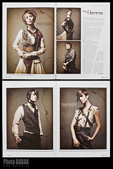 Cowboys 09 - Babak (BABAK photography) Tags: beauty fashion cowboys magazine hair studio print pie photography lights photographer ska shift sheets guns babak timothy tear tilt fashionshoot aleksandra switzer stefaniewright