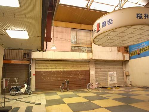 桜井市の商店街-05