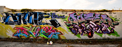 bane fuze (the real miami vice) Tags: road street city color building art beach wall out graffiti paint downtown gallery miami south flight basel spray gone midtown business galleries artsy eat your 95 scheme primary global ggg overtown