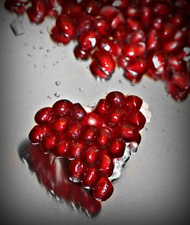 Pomegranate heart- corazon de granada