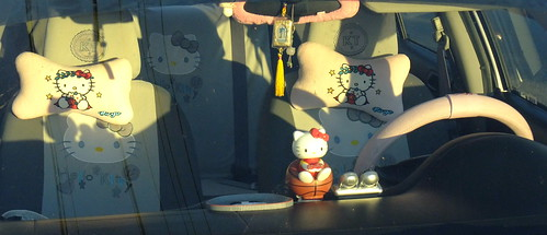 Hello Kitty Mobile of The Outer Sunset