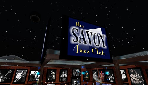 the savoy jazz club party in second life