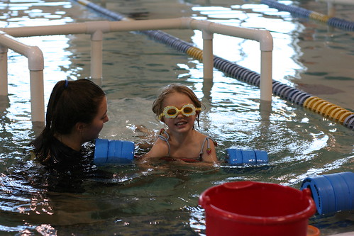 First Swimming Lesson!