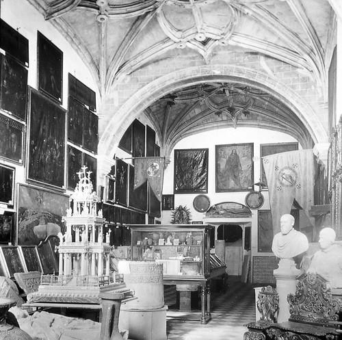 Museo Provincial de Toledo a finales del siglo XIX. Fotografía de Alexander Lamont Henderson