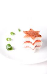 Red Star Sandwich (Morphicx) Tags: light red food blur studio lights dof bokeh 5d strobe 2470f28l strobist bokehwhores bokehwhore