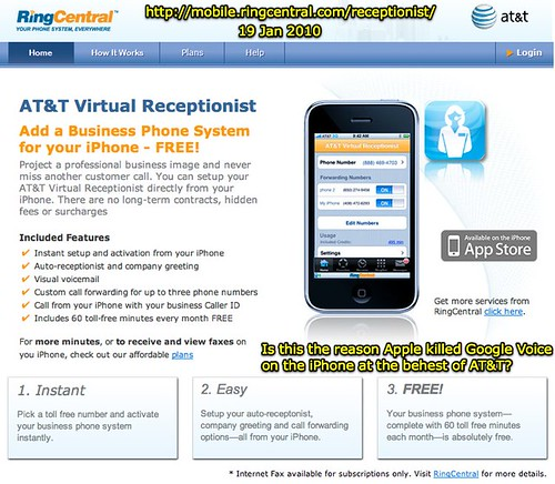 iPhone Virtual Receptionist - Business Phone Service by RingCentral