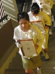 """เอกอัครราชทูตไทยชม """"การอ่านสังวัธยายพระไตรปิฎก"""" นักเรียนสยามสามไตร กทม"""
