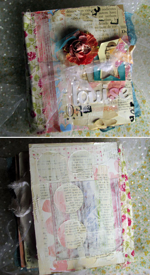 Louise 0-6 months art journal {covers}