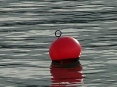 Buoy oh buoy (lor'slumix) Tags: uk sea reflections buoys buoyant lorslumix