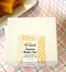 tangerine butter cake box (naiadsoaparts) Tags: tangerine soap cinnamon vanilla limitededition clove coldprocess