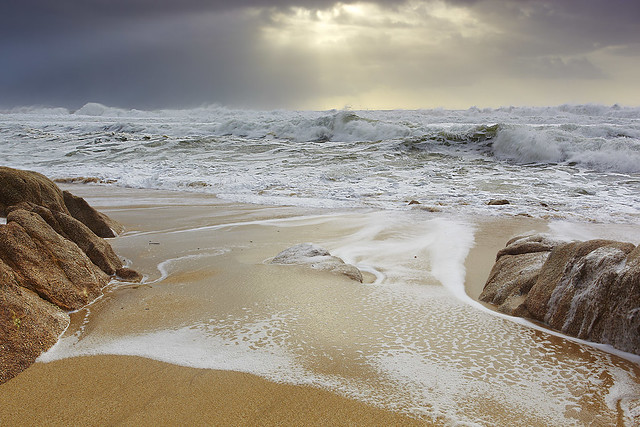 Sun and Storm - Greywhale Cove, California