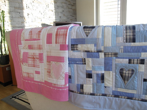 Quilted Baby Blankets